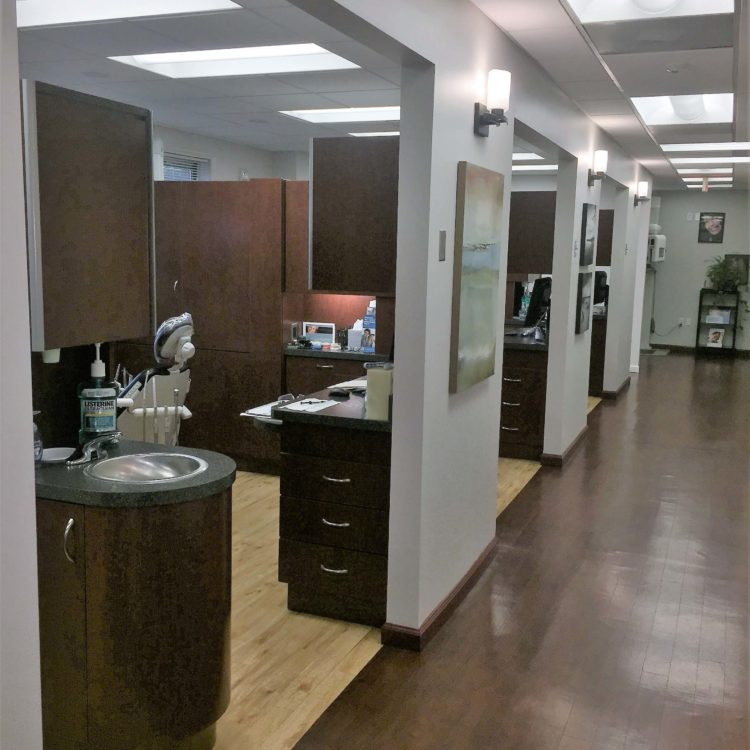 Interior of Dental Office